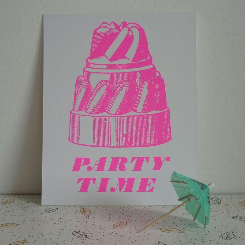Partytimeprint