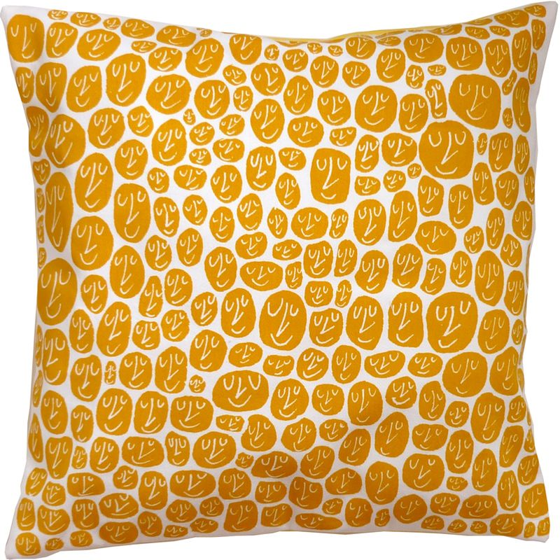 HappyCushionYellow