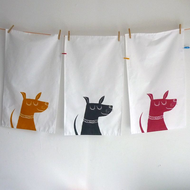 HappyDogTeaTowels
