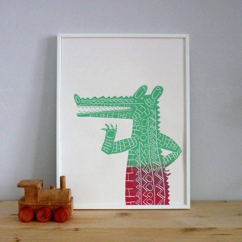 Crocodilewatermelon01