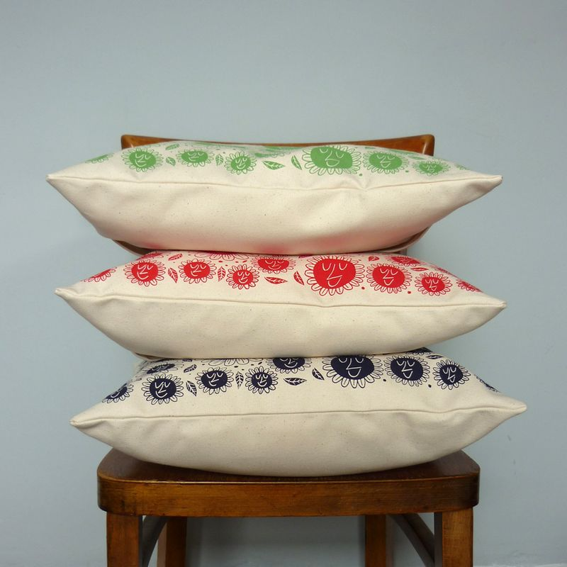HappyFlowerCushions